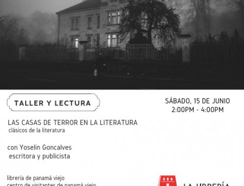 Taller y lectura Las casas de terror en la literatura