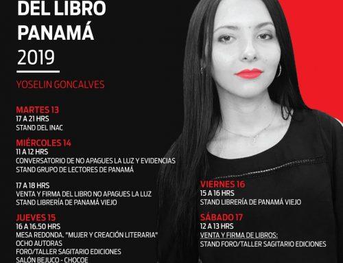 Participación en la Feria Internacional del libro Panamá 2019